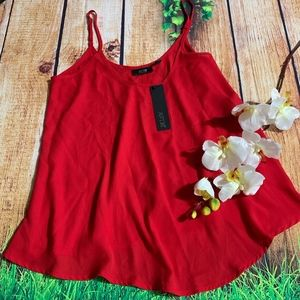 APT 9 CAMISOLE RED TOP SIZE XS